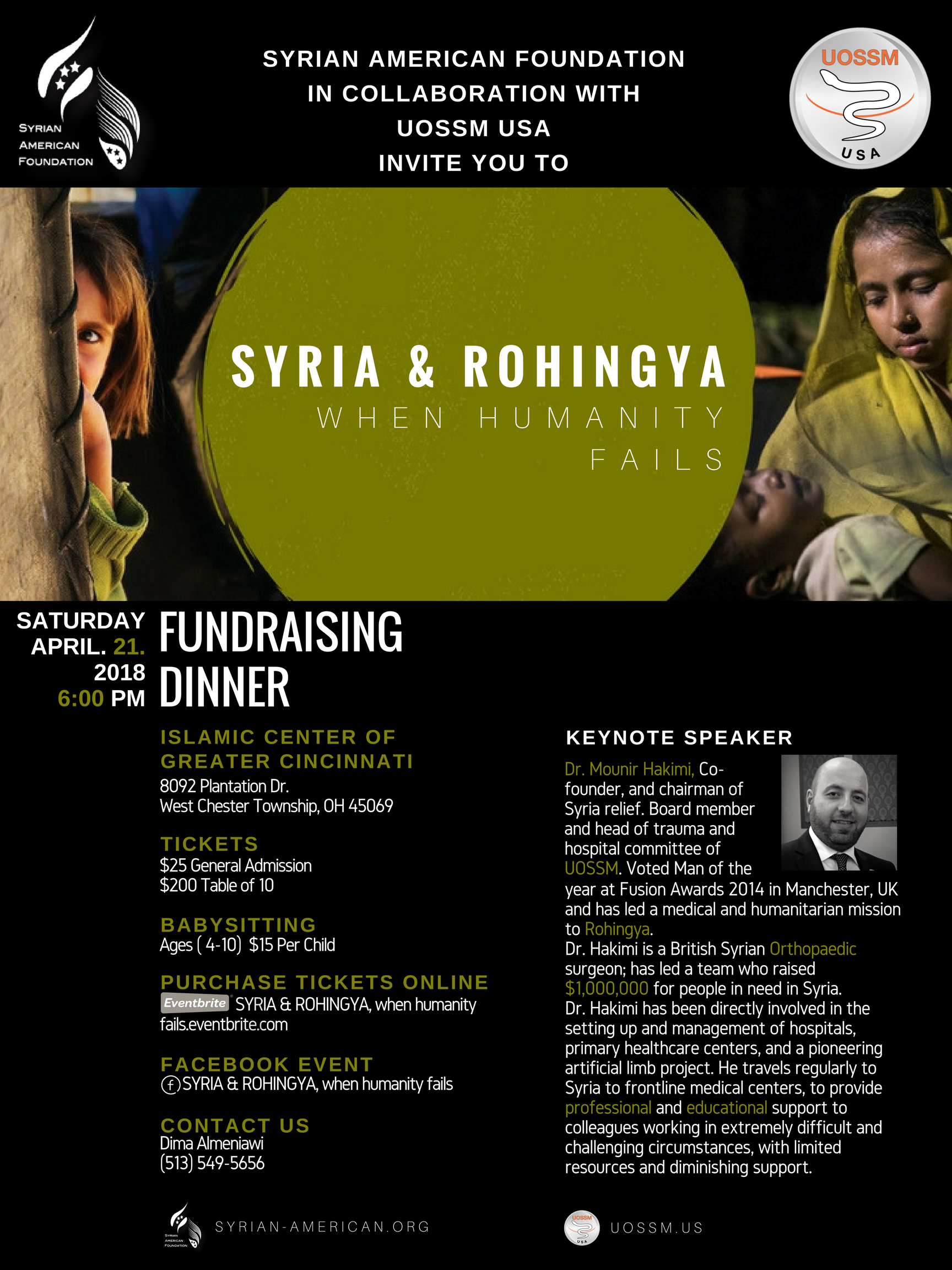 Syrian & Rohingya, when humanity fails